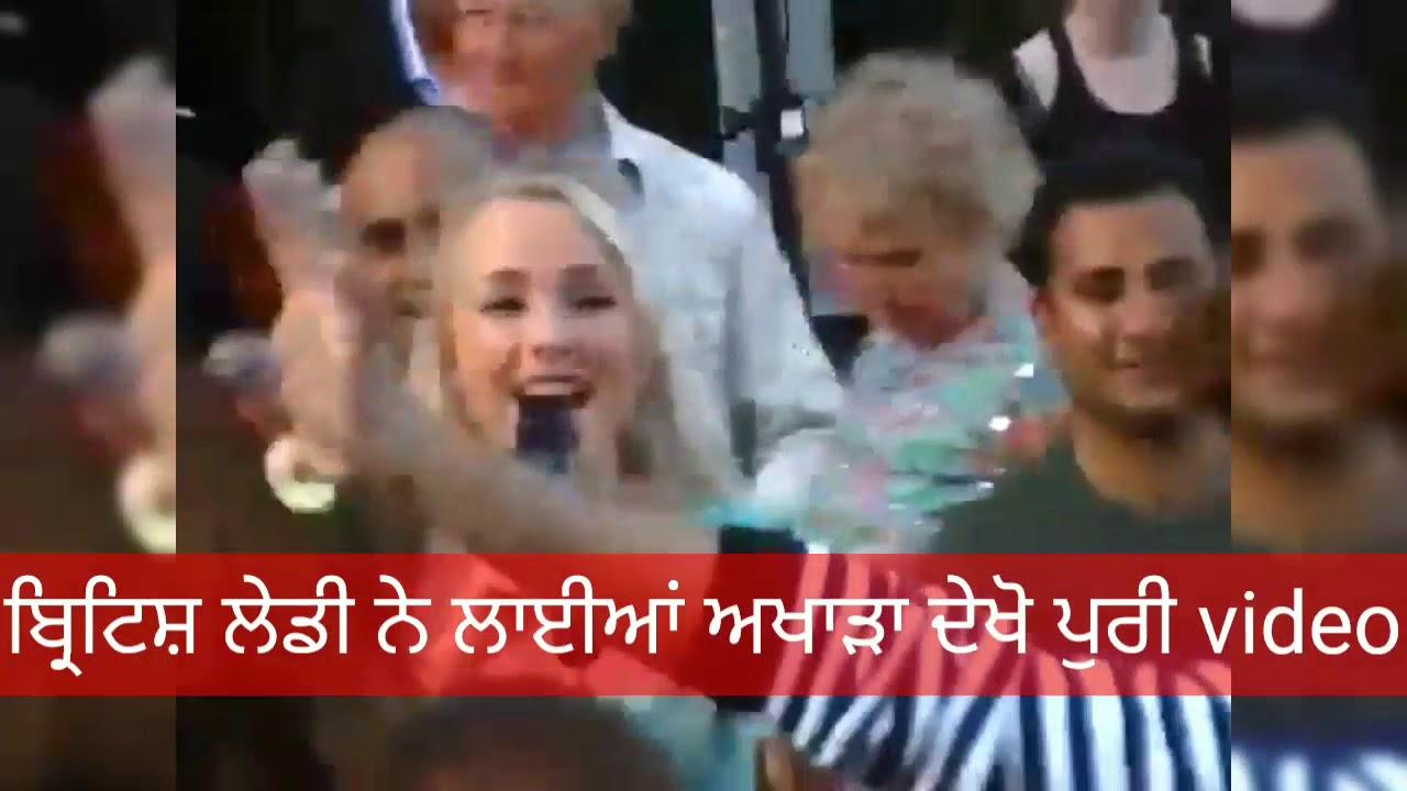 foreigner girl Punjabi song 2019